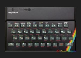 Rubber-Keyed Spectrum 48K